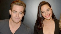 Chris Pine Appears In New 'Wonder Woman' Photos