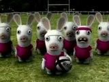 Les lapins crétins - Le  Haka