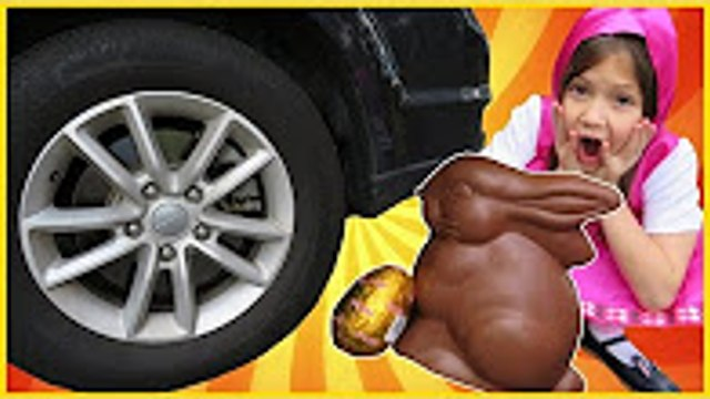 Masha's Chocolate Rabbit Was CRUSHED Under Car by PESKY BEAR from Masha and the Bear, маша и меь(1)