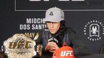 Joanna Jedrzejczyk full post-UFC 211 media scrum