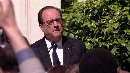 Déclaration de François Hollande au Parti Socialiste