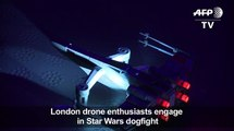 Star Wars dres dogfight in London