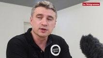 LFH (1/2 finale). Brest BH-Issy Paris : 21-23 La réaction de Laurent Bezeau