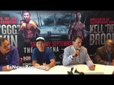 GENNADY GGG GOLOVKIN PRESENTED WITH UNIQUE SPECIAL PAINTING - EsNews Boxing