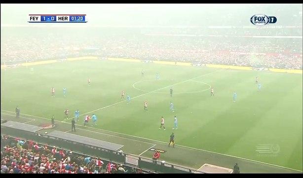Dirk Kuyt Goal HD - Feyenoord 1-0 Heracles - 14.05.2017