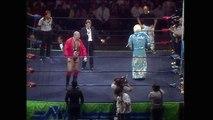 Ric Flair vs Nikita Koloff Starrcade 1986