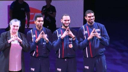SNCF Réseau 2017 - Présentation des médaillés olympiques