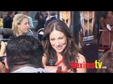 LYNN COLLINS at X-MEN ORIGINS WOLVERINE Premiere