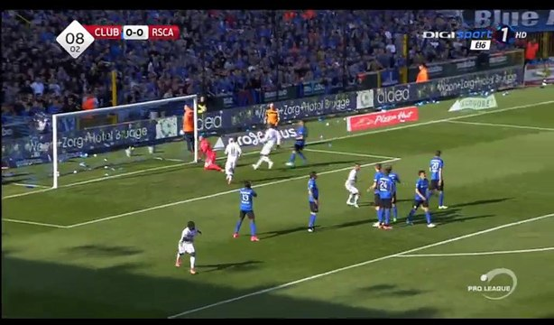 Sofiane Hanni Goal HD - Club Brugge KV 0-1 Anderlecht - 14.05.2017
