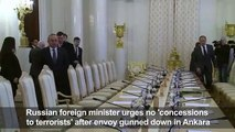 Lavrov calls forassador murder