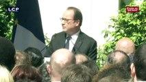 Le discours de François Hollande au PS après son départ de l'Élysée