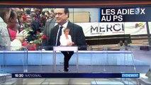 Les adieux de François Hollande au Parti socialiste