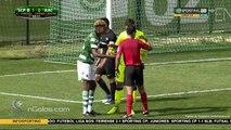Penalty Insólito - Sporting B 1-2 Academica (1-1) Rui Miguel (Penalty) 61' (Segunda Liga)