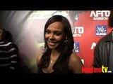 SAMANTHA MUMBA Interview at AFRO SAMURAI Launch Party