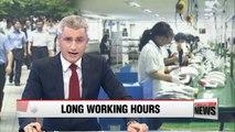 1 in 5 Korean employees work 54 hours or longer per week