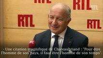 Laurent Fabius revient sur son discours face à Emmanuel Macron