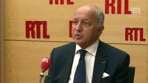 """Laurent Fabius évoque """"l'importance du couple Franco-Allemand pour la force de l'Europe"""""""