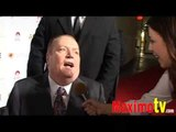 LARRY FLYNT Interview at Larry King's 75th Birthday Party Celebration