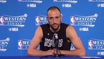 【NBA】Manu Ginobili Postgame News Conference | Spurs vs Warriors | Game 1 | May 14, 2017 | NBA Playoffs