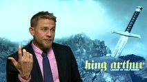 """Charlie Hunnam on why he's called """"12 inch c**k Billy""""!"""