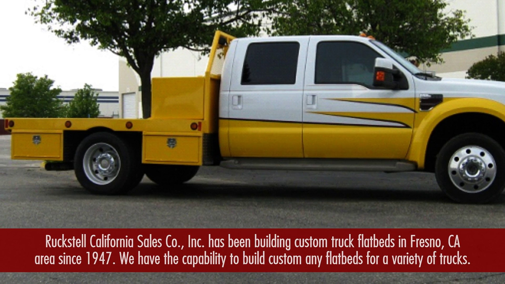 Custom Built Flatbed For Trucks In Fresno Ca Video Dailymotion