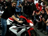 Mondial 2007 - Stand Moto & motards - Burn Final Steph MIB 2