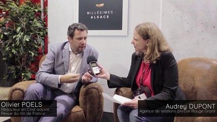 Olivier Poels - Interview Millésimes Alsace 2016