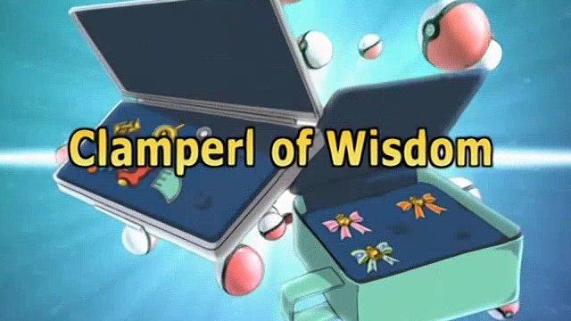 Pokemon 08x01 Clamperl Of Wisdom!