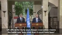 Aleppo evacuation means battle less cruel_UN[1]dsa