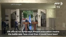 Aleppo evacuation means battle less cruel_UN[1]asd