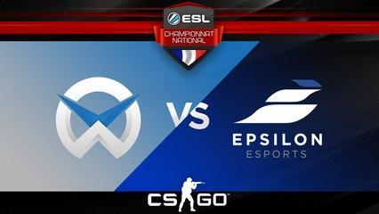 CS:GO - WySix vs Epsilon - Inferno - ESL Championnat National - Summer 2017 - Map 2