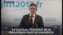"""Mélenchon sur Edouard Philippe : """"Le droite vient d'être annexée, le vieux monde est de retour"""""""