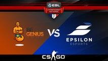 CS:GO - BeGenius vs Epsilon - Inferno - ESL Championnat National - Summer 2017 - Map 2