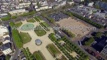 CENTRE VILLE D'ANGERS AU PRINTEMPS, VU PAR DRONE 2