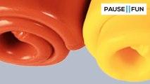 Détente oculaire : la coloration du silicone