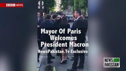 Mayor Of Paris Welcomes President Macron NewsPakistanTv Exclusive