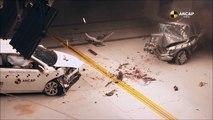 1998 Toyota Corolla vs 2015 Toyota Corolla - Crash Test