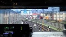 【前面展望】[JU・JT]JR東日本E231系1000番台機器更新車U524編成 上野東京ライン東海道線直通 小田原行 上野(UEN JU02)〜東京(TYO JU01 JT01)