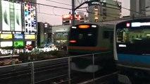 上野東京ライン E231系1000番台オール国府津車 秋葉原駅通過