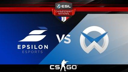 CS:GO - Epsilon vs WySix - Train - ESL Championnat National - Summer 2017 - Map 1