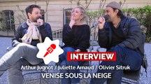 Venise sous la neige : surnoms mignons, disputes, mensonges... L'interview 100% vie de couple !