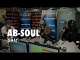 Ab-Soul Freestyles + Talks Satanism and Breaks Down Lyrics on Sway in the Morning
