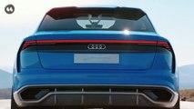 Audi Q8 Concept Car Commercial