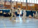 Championnat wallonie 2007 Karim - Arts 1er Combat 1er partie