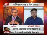 Lion Of Pakistan Pervez Musharraf Did Heavy Chitrol Of Prime Minister Nawaz Sharif In Indian Talk Show