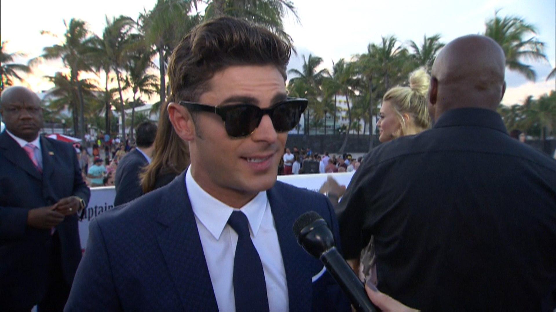 Sexy Miami 'Baywatch' Premiere: Zac Efron