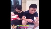Funny Chinese videos - Pra 7 can't stop laugh
