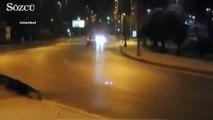 Kadıköy'de tehlikeli şov