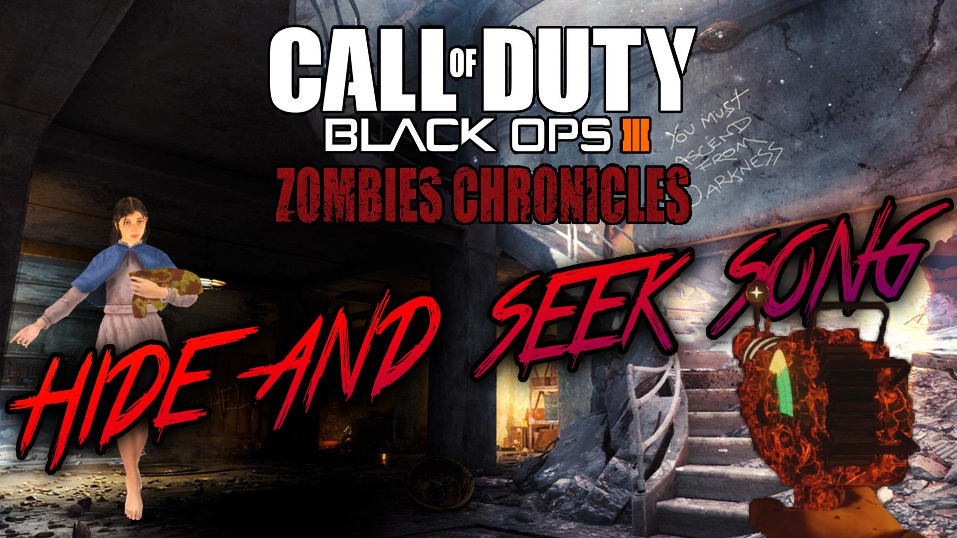NACHT DER UNTOTEN - SECRET SAMANTHA'S HIDE AND SEEK EASTER EGG SONG (Black  Ops 3 Zombies Chronicles)