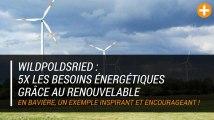 Wildpoldsried : 5x les besoins énergétiques grâce au renouvelable